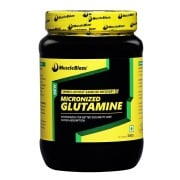 MuscleBlaze Micronized Glutamine,  0.67 lb  Unflavoured