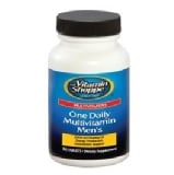 The Vitamin Shoppe One Daily Men's Multivitamin,  Unflavoured  60 Tablet(s)