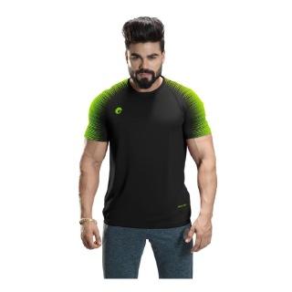 1 - Omtex Gym T Shirt Spider 007,  Black  XXL