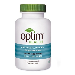 OptimHealth Multivitamin Health Supplement,  Unflavoured  60 capsules