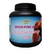 Dplus Pure Whey Protein,  Unflavor  3.3 Lb