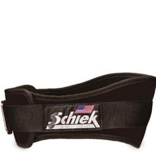 Schiek Workout Belt,  Black  Medium