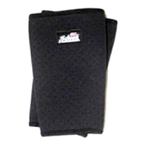 Schiek Perforated Knee Sleeves,  Black  Large