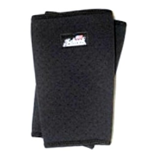Schiek Perforated Knee Sleeves,  Black  Large