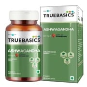 TrueBasics Ashwagandha with 600 mg of KSM-66,  60 capsules