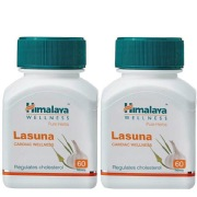 Himalaya Lasuna Capsules 60 tablet(s) Pack of 2