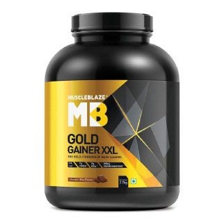 MuscleBlaze Gold Gainer XXL Mass Gainer,  6 lb  Chocolate Bliss
