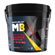 MuscleBlaze High Protein Lean Mass Gainer,  11 lb  Chocolate