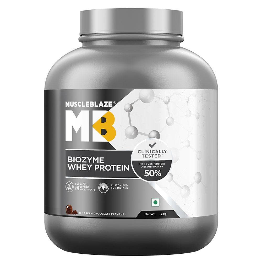 MuscleBlaze Biozyme Whey Protein,
